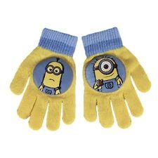 Disney Minions Minion Kinderhandschuhe Kinder Winter Handschuhe mit PVC Aufdruck