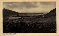 Porta Westfalica 1928 Kaiser Wilhelm Denkmal Tal Panorama Landschaft Felder Wald