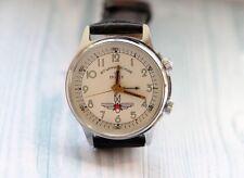 POLJOT Shturmanskie SIGNAL ALARM USSR vintage men's mechanical wristwatch