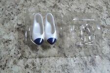 Dark Blue pump shoes made for Franklin Mint Diana vinyl doll fit vintage too