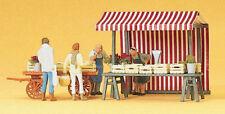 Preiser 10053 H0 Figure 1:87 frutta e bancarelle di ortaggi - NUOVO IN ORIGINALE