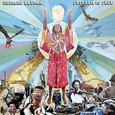 Chicano Batman FREEDOM IS FREE +MP3s NEW SEALED Fire Orange Colored Vinyl LP