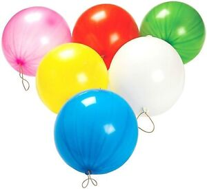 LARGE PUNCH BALLOONS BOUNCY CHILDREN PARTY BAGS PINNATA FILLERS TOYS KIDS
