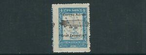 PARAGUAY 1931 GRAF ZEPPELIN overprint (Scott C55) F MNH
