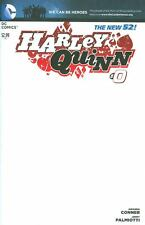 Harley Quinn (vol 2) #0 BLANK VARIANT COVER New 52 1st print We Can Be Heroes NM