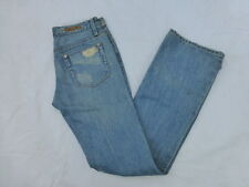WOMENS SEVEN7 BOOTCUT JEANS DISTRESSED SIZE 26x33 #W297