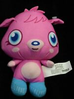 Rare MOSHI MONSTERS Plush Stuffed Animal Hot Pink POPPET Toy Doll VHTF 2011