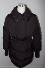 Armani Jeans quilted / padded black coat. Down & Feather filled, Size 8. Puffa