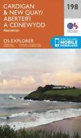Cardigan and New Quay, Aberaeron by Ordnance Survey 9780319243916 | Brand New