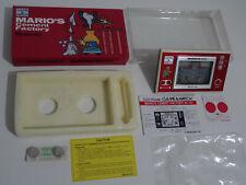 "Nintendo GAME & WATCH "" MARIO'S CEMENT FACTORY "" WideScreen VERY GOOD G&W 1982"