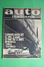 AUTO ITALIANA 30/1961 NATALE ANDREUCCI CARRETTIERE ROMA L'ALPINE GRUPPO ROOTES