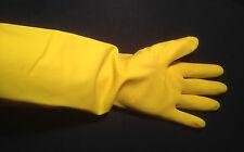 Haushaltshandschuhe 38 cm extra lang Gummihandschuhe --- rubber gloves #48