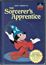 Disney's Wonderful World Of Reading Book THE SORCERER'S APPRENTICE Mickey Mouse