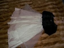 Dimples Of Los Angeles Little Girls Size 2 T Black/White Dressy Dress