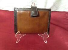 Vintage Prince Gardner Brown Leather Men's Billfold Wallet Organizer Coin C Card