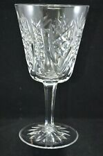 WATERFORD CRYSTAL 6.5 INCH WATER GOBLET /  GLASS - CLARE