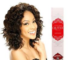 Model Model Cuticle Remy Qutix Short Cut #1B Black French Twist Hair Extensions