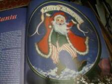 Tole World December 1995 Magazine-Wagon/Tree Skirt/Santas/Mrs Claus/Agios Nikoli