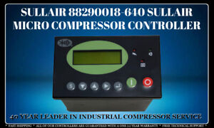 SULLAIR 88290018-640 MICRO COMPRESSOR CONTROLLER WITH 1 YEAR WARRANTY