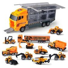 Joyin Toy 11 in 1 Die-cast Construction Truck Vehicle Car Set Play Vehicles Toys