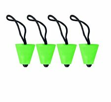 Best Neon Green Universal Kayak Scupper Plugs Set Of 4 (Kayak Scupperplugs)