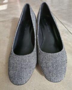 Ladies M&S Leopard Print Heel Shoes UK Size 5.5