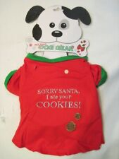 CHRISTMAS Themed  DOG OUTFIT  T-Shirt ~ M Medium ~ New