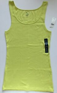 Gap Women's Sleeve Less Lace Trim Stretchy Print  Solid Ribbed Tank Top L XL NEW