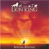 THE LION KING - Original Film Soundtrack Walt Disney Elton John CD NEW