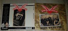 Cock Sparrer - Here We Stand - UK Digi-Pack  CD + DVD (2009)