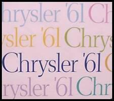 1961 Chrysler Dlx brochure,  New Yorker Windsor