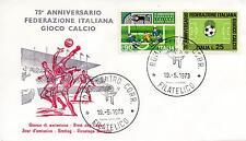 Repubblica Italiana 1973 FDC Federazione Italiana Giuoco Calcio