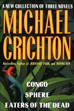 CONGO ~ SPHERE ~ EATERS OF THE DEAD ~ MICHAEL CRICHTON ~ 3 NOVELS IN 1 BOOK