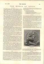 1895 Tacoma Washington Bicycle Tax Novel Unicycle Gujarat Challenge Cup