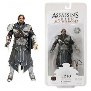 "Neca Assassins Creed Brotherhood - Ezio (Onyx - Unhooded) Exclusive 7"" Figure"