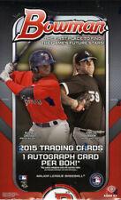 Bowman 2015 Baseball Factory 1 Jumbo 1 Hobby Edition