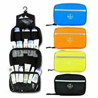 Travel Toiletry Organizer Case Hanging Cosmetic Makeup Bag Storage Wash Pouch