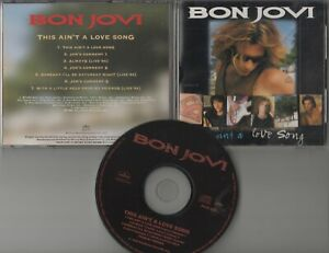 Bon Jovi  CD-MAXI THIS AIN'T A LOVE SONG  ©  1995  JAPAN