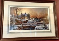 Heading Home Terry Redlin Limited Edition Signed Large Framed Print Ltd Ed