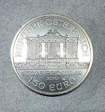 OSTERREICH / AUTRICHE 1,50 EURO PHILHARMONIQUE 2010 - 1 ONZE FEINSILBER - SUP -