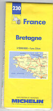 CARTE TOURISTIQUE MICHELIN N° 230 . BRETAGNE