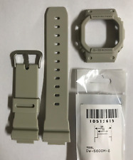 CASIO Original G-shock Watch Band  DW-5600M-8 Gray Strap & Bezel  DW5600M