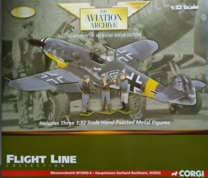 Corgi Aviation Flight Line Messerschmitt Bf 109G-6 Hauptmann Anton Hackl US34907
