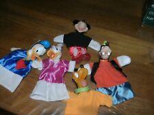 lot van 5 poppen voor poppenkast ,van Disney ,,zie foto's ,,ook thuis afhalen ,,