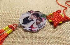 Family Photo  Mother's Day Ornament--- ViVi Chinese Knot & photo crystal