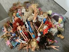 random lot of 20 barbies + some accessories