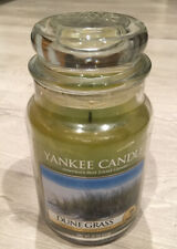 Yankee Candle Retired DUNE GRASS~ Fresh~ Large 22 oz ~ RARE ~ 95% Full