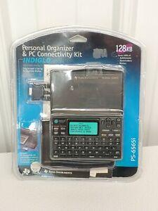 Texas Instrument Personal Organizer Calculator PS-6565i PC Connect 128KB NIB NOS