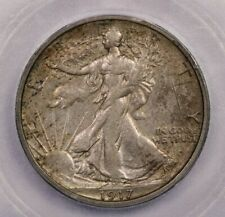 1917-S 1917 Walking Liberty Half Dollar 50c ICG AU50 Details