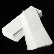 150 x Paper Strips Wax Waxing Leg Body Non Woven Professional Quality WHITE/PINK
